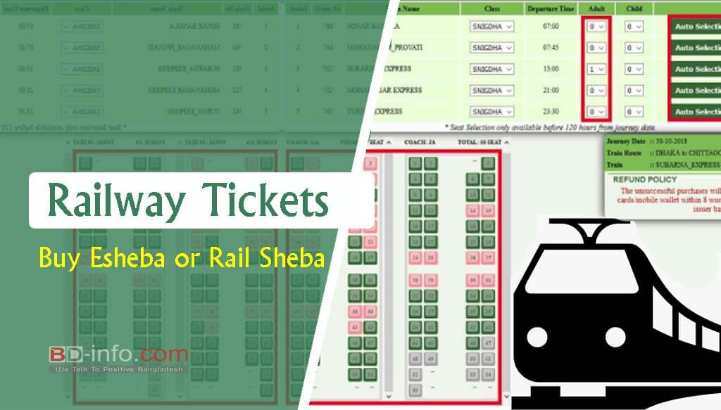 Bd Railway Online Ticket