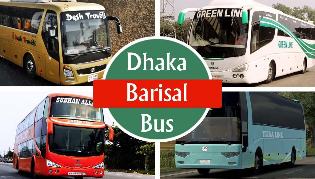 Dhaka To Barishal Bus