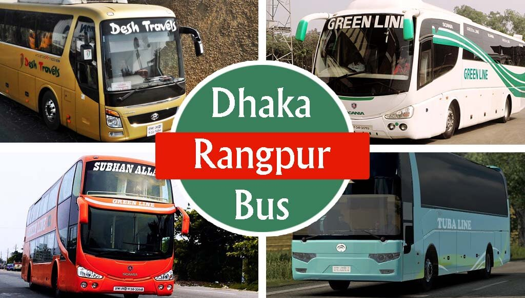 Dhaka To Rangpur Bus Dhaka-Rangpur Bus Schedule & Rent