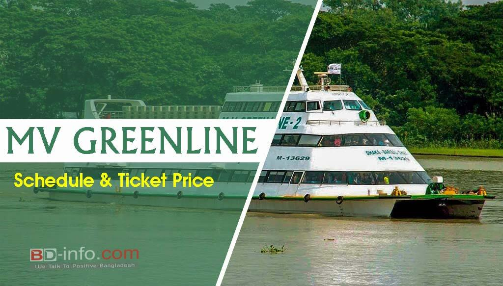 MV Green Line Water Bus Ticket Price & Contact Number 2021 – Bd ...