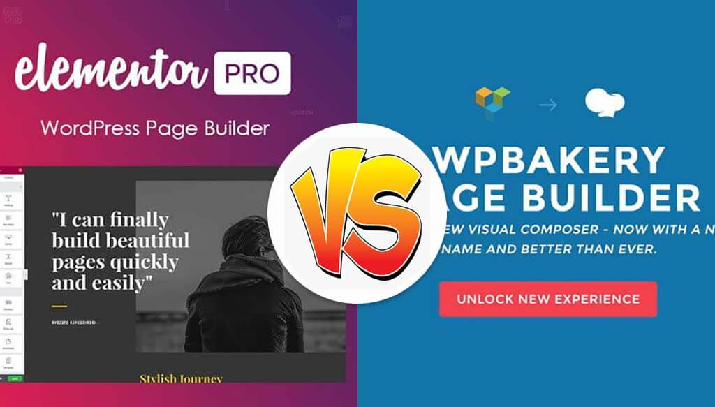 Elementor Pro VS WPBakery WPBakery page builder