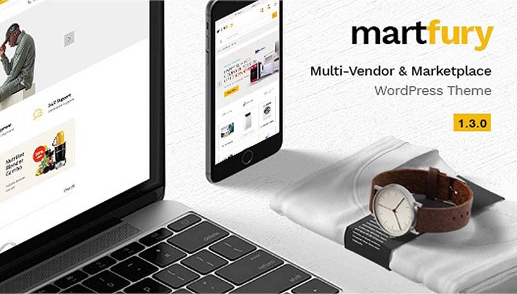 Martfury - WooCommerce Marketplace Ecommerce Theme
