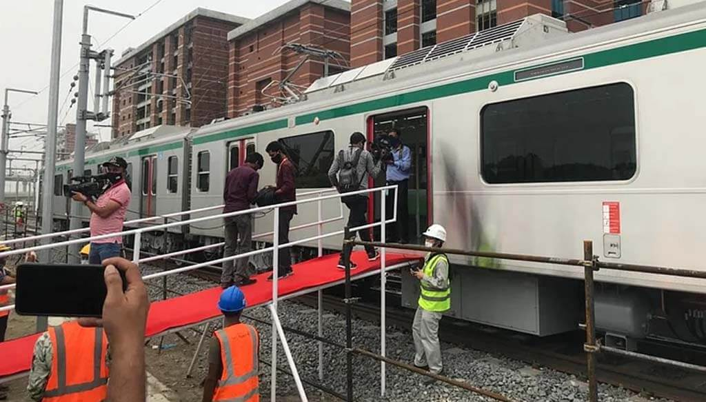 Bangladesh in the era of electric train