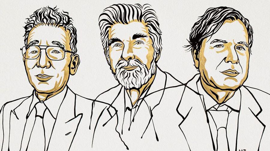 Syukuro Manabe, Klaus Hasselmann & Giorgio Parisi